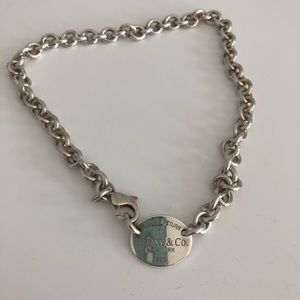 Tiffany & Co. Jewelry - Return to Tiffanys Sterling Silver Necklace